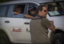 Gustavo Murawczik filming an incentive trip in Marrakech, Morocco.