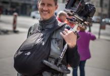 Mike Plonsky shooting in Vienna, Austria.