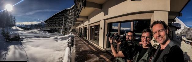 Plonsky Team shooting in Interalpen, Switzerland.