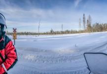 Andy Molloy & Mike Plonsky cubriendo un incentivo en Laponia, Finlandia.