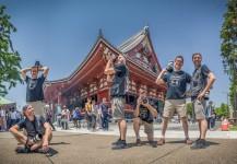 Mike y Ernesto Oehler en Japón cubriendo un incentivo.