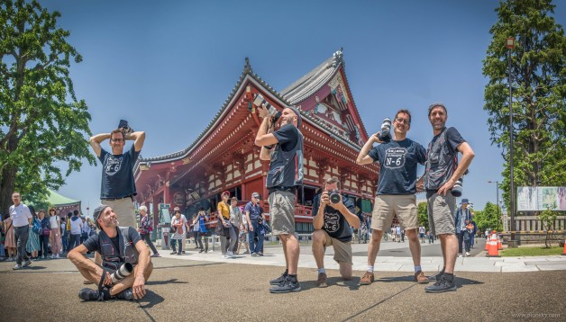 Mike and Ernesto Oehler in Japan covering an incentive trip.