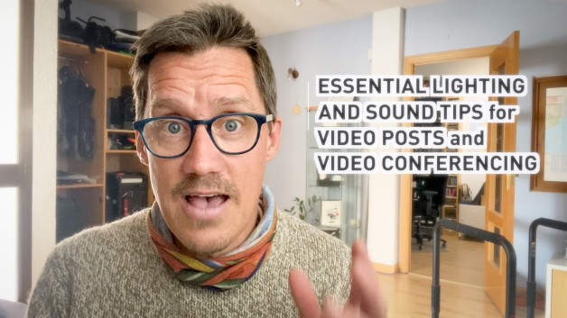 ESSENTIAL LIGHTING & SOUND TIPS for VIDEO CONFERENCING (English)